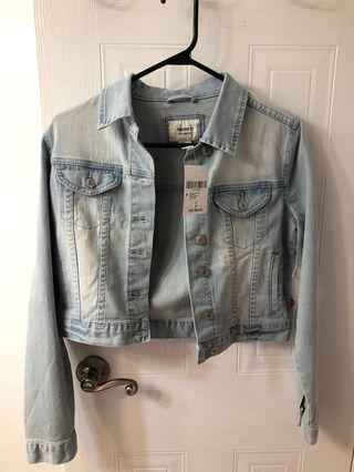 denim jacket - FOREVER 21
