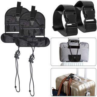 Bag Bungee 2pc Luggage Belt + Straps