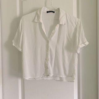 Brandy Melville white button up