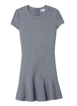 Aritzia Sunday Best Grey fit and flare dress
