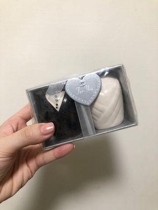 婚禮小物-新郎新娘造型瓶調味罐