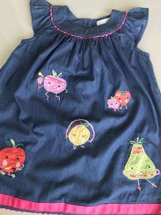 Fruity fruits dress