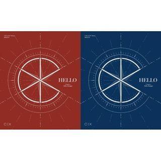 CIX 1st EP Album Hello Chapter 1 Hello Stranger (Hello / Stranger Ver)