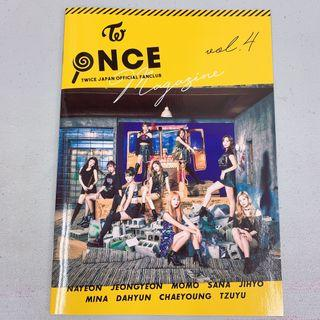 [Instock] TWICE ONCE Japan Official Fanclub Vol 4