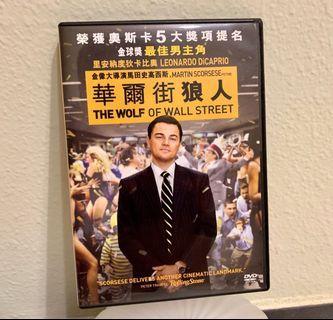 華爾街狼人 DVD (香港版) 李安立度狄卡比奧