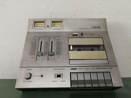 Vintage Toshiba Stereo Cassette Deck