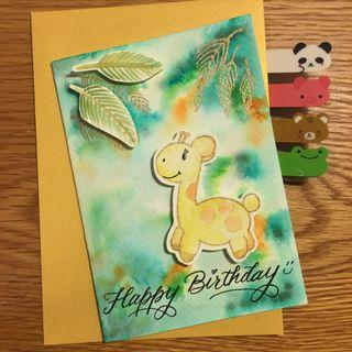 【自家製】立體生日卡