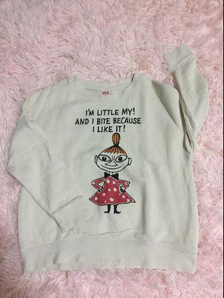 Uniqlo girls sweatshirt
