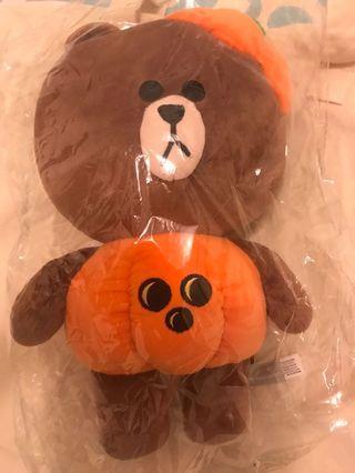 Line Friends 熊大 Brown