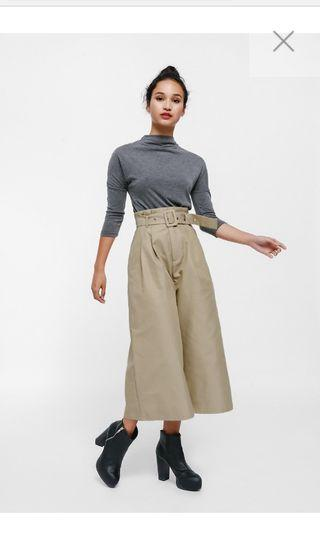 Love bonito Colea Belted Paperbag Culottes
