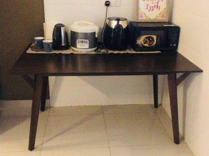 Dining Table with 4 Chairs & 1 bench set (price reduced!)
