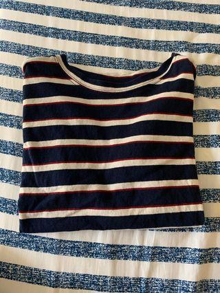 🚚 深藍T-shirt