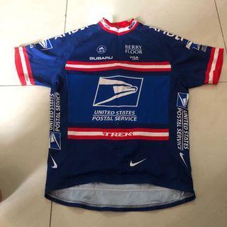 Cycling Jersey Trek US Postal L Size