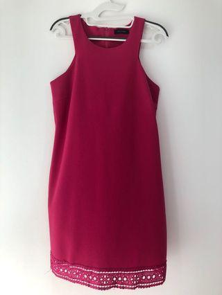 New Look Pink Sleeveless Dress