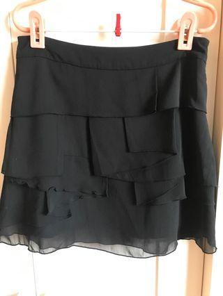 Black 雪紡紗裙