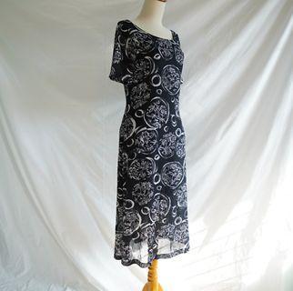 Vintage Dress - Black
