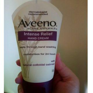 Selling Aveeno intense relief hand cream. WEDNESDAY FLASH SALE NOW ON. PLEASE READ DESCRIPTION BELOW