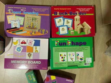 Right brain memory training materials