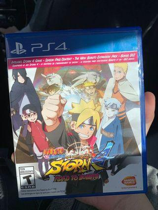 🚚 PS4 Naruto Ultimate Storm
