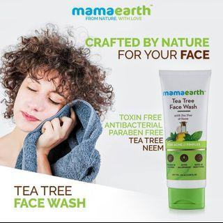 Tea Tree Facewash for Acne & Pimples