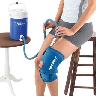 Aircast Cryo Cuff - Knee - with gravity feed cooler (Medium Size)