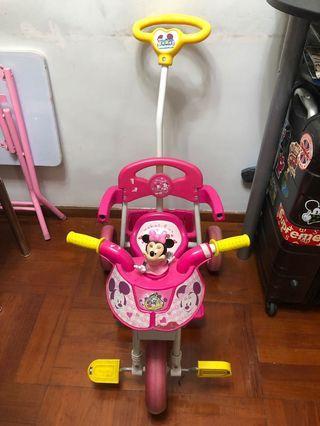 🈹⚠️正版米妮小童單車