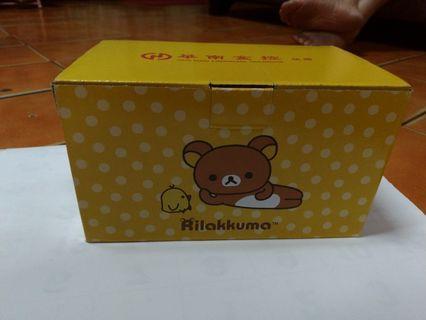 🚚 拉拉熊分隔保鮮盒 及拉拉熊保鮮袋