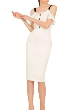 Doublewoot White Off Shoulder Dress