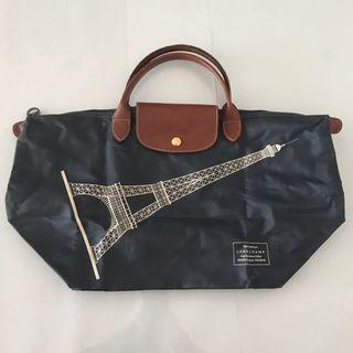 🚚 Longchamp Eiffel Tower Medium Short Handle Bag