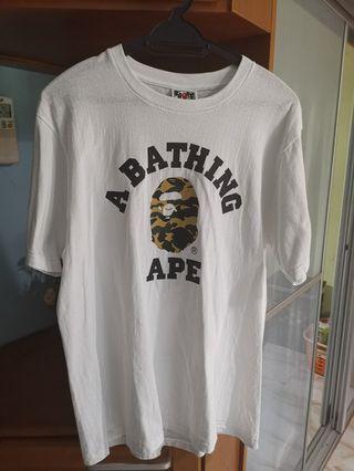 Bape t shirt 100 authentic