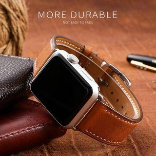 (Instock) Apple Iwatch Leather strap Original By jansin