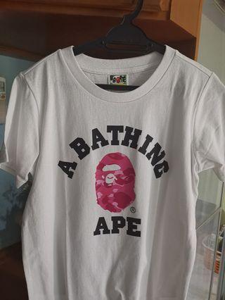 Bape t shirt xs women