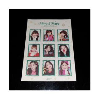 🚚 Twice Merry and Happy Sticker Sheet