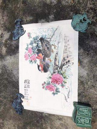 中國舊花鳥圖
