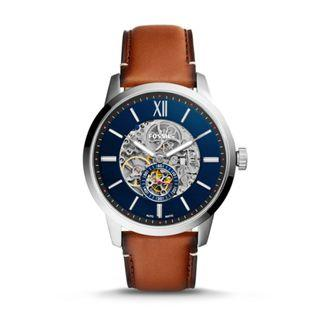 Fossil Townsman 48 mm Automatic Leather Watch ME3154