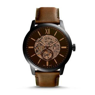 Fossil Townsman 48 mm Automatic Leather Watch ME3155