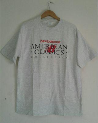 Vintage New Balance Made in USA shirt