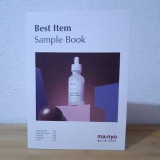 🚚 MANYO FACTORY BEST ITEMS SAMPLE BOOK ●DIRECT SHIPMENT FROM MANYO FACTORY●