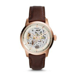 Fossil Townsman Automatic Dark Brown Leather Watch ME3078