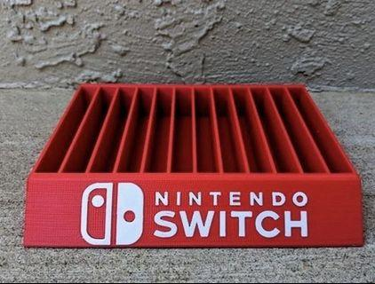 (INSTOCK) Nintendo Switch Game Case Stand