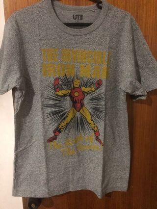 Uniqlo Marvel Shirt - Iron Man