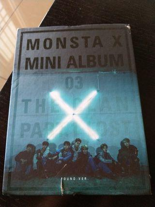 (FREE SHIPPING)MONSTA X MINI ALBUM FOUND VER