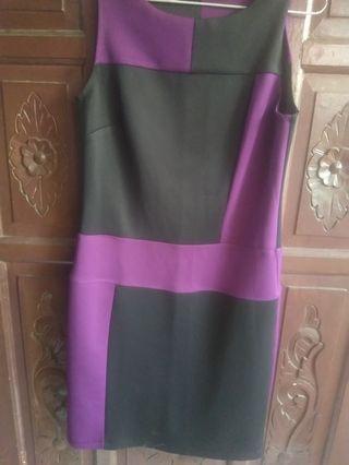 Mididress purple