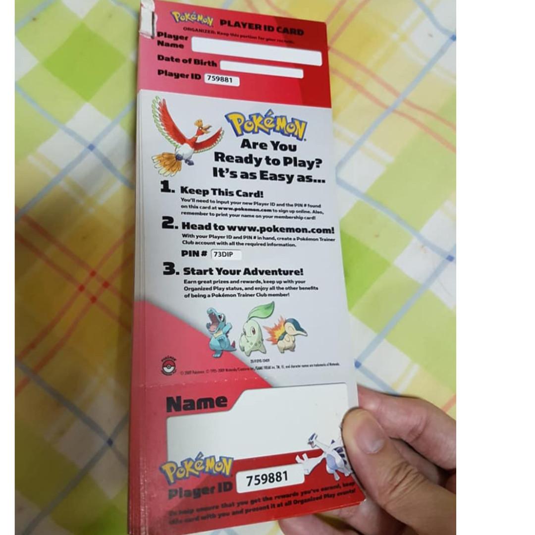 $10 POKEMON POP ID STACK UNUSED