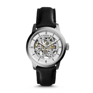 Fossil Townsman Automatic Black Leather Watch ME3085