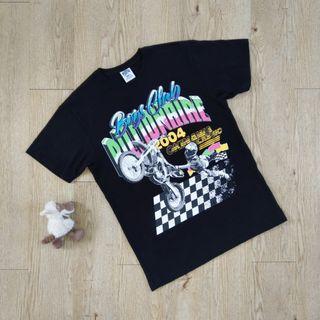 Billionaire boys club 億萬少年俱樂部 菲董 潮牌 限量 潮T T-shirt 黑白格 賽車 黑色 L號