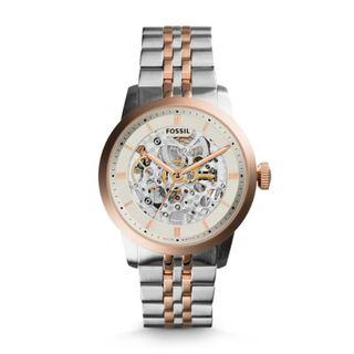 Fossil Townsmen Automatic Two-tone Stainless Steel Watch ME3075