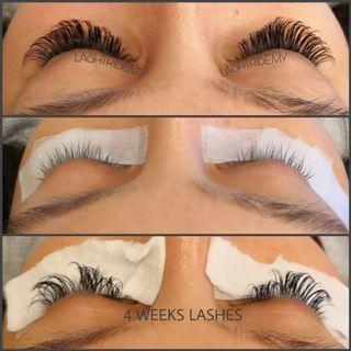 Eyelash Extensions Russian mega volume