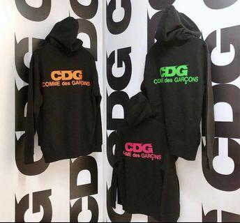 COMME DES GARCONS (CDG) HOODIE HOODY AND COACH JACKET