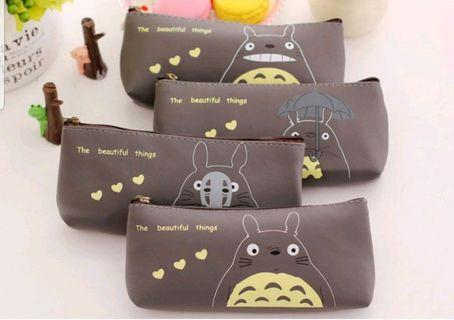 Cute Totoro Waterproof Pen/ Pencil Case - Gift for Kids, Students, Friends, Colleagues, Events, Children's Party! Birthday Goodie Bag/ Loot Bag/ Childrens Day/ Teachers Day/ Friendship Day/ Christmas/ School/ Study/ Art/ Stationery/ Travel/ Cartoon